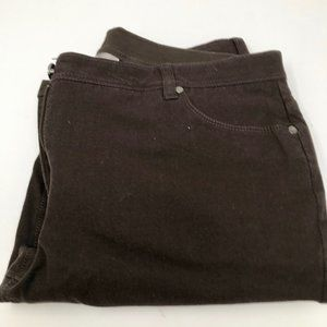 Chico's Brown Stretch So Slimming Jeans Sz 14